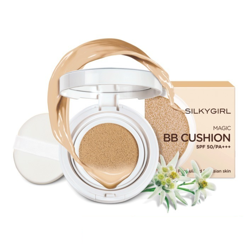 Silkygirl Magic BB Cushion 02 нүүрний крем